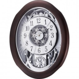 Anthology Espresso Magic Motion clock 4MH869WU06