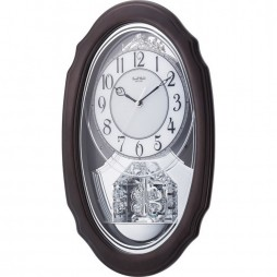 Crystal Hearts Musical Motion clock 4MH870WU06