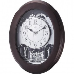 Nostalgia Espresso Magic Motion clock 4MH871WU06