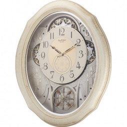 Ivory Cottage Magic Motion clock 4MH873WU03