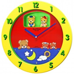 Li'l Bears Magic Motion clock 4MH894WD33