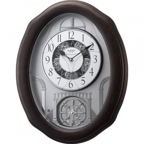 Glory Espresso Magic Motion clock 4MH895WU06