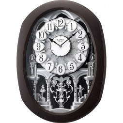 Encore Espresso Magic Motion clock 4MH896WU06