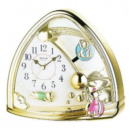 Sweet Bears Contemporary Motion clock 4SG762WR18