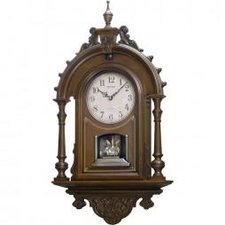 WSM Elizabeth II Wooden Musical Clock CMH752UR06