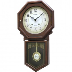 Colonial Wooden Musical Clock CMJ377NR06