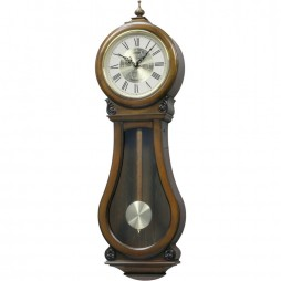 WSM Bishop Wooden Musical Clock CMJ529NR06