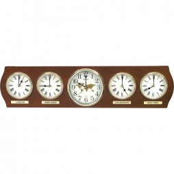 Time Zones Wall Clock CMW901NR06