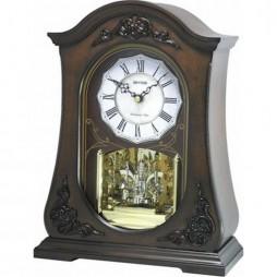 WSM Chelsea Wooden Musical Mantel Clock CRH165NR06
