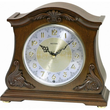 Joyful Versailles Wooden  Musical Mantel Clock CRH193UR06