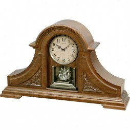 Joyful King Mantel Wooden  Musical Mantel Clock CRH205UR06