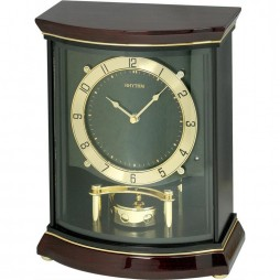 Ascot Wooden  Musical Mantel Clock CRH208NR06