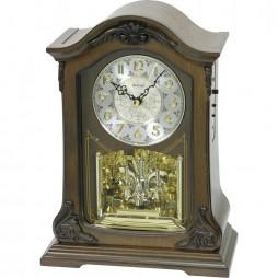 American Pride Wooden Musical Clock CRH209UR06