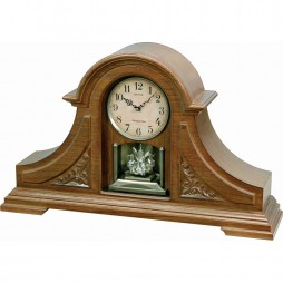 WSM King Mantel II Wooden Musical Clock CRH213UR06