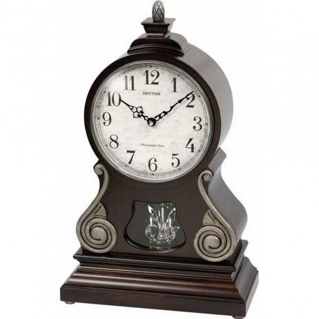 WSM Florentine Wooden Musical Clock CRH223UR06