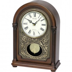 WSM Amherst Wooden Musical Clock CRJ731NR06