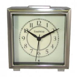 Monarch Alarm Clock Bushed Nickel