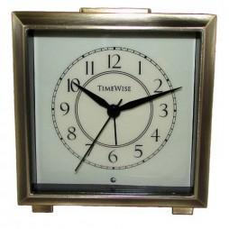 Monarch Alarm Clock Brushed Bronze