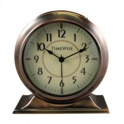 Alarm Clock - Collegiate Metal Alarm Clock Antique Copper