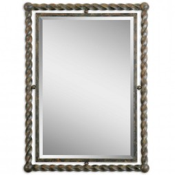Uttermost Garrick Wrought Iron Mirror 01106