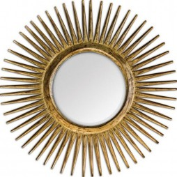 Destello Gold Starburst Mirror 05032