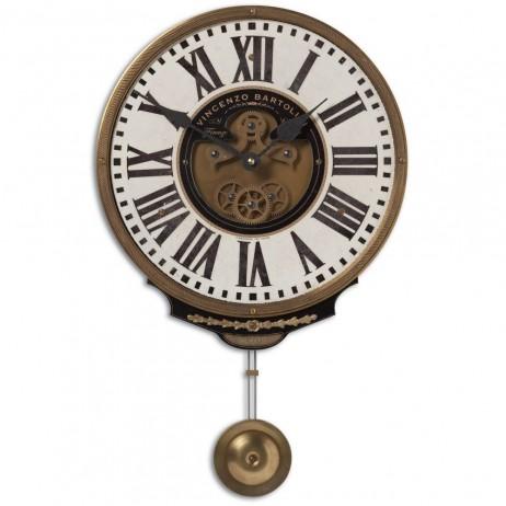 Vincenzo Bartolini Cream Wall Clock 06021