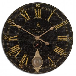 "Bond Street Wall Clock - 30"" 06030"