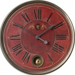 "Regency Villa Tesio 23"" Decorative Wall Clock 06037"