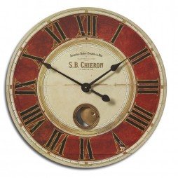 "S.B. Chieron 23"" Wall Clock 06042"