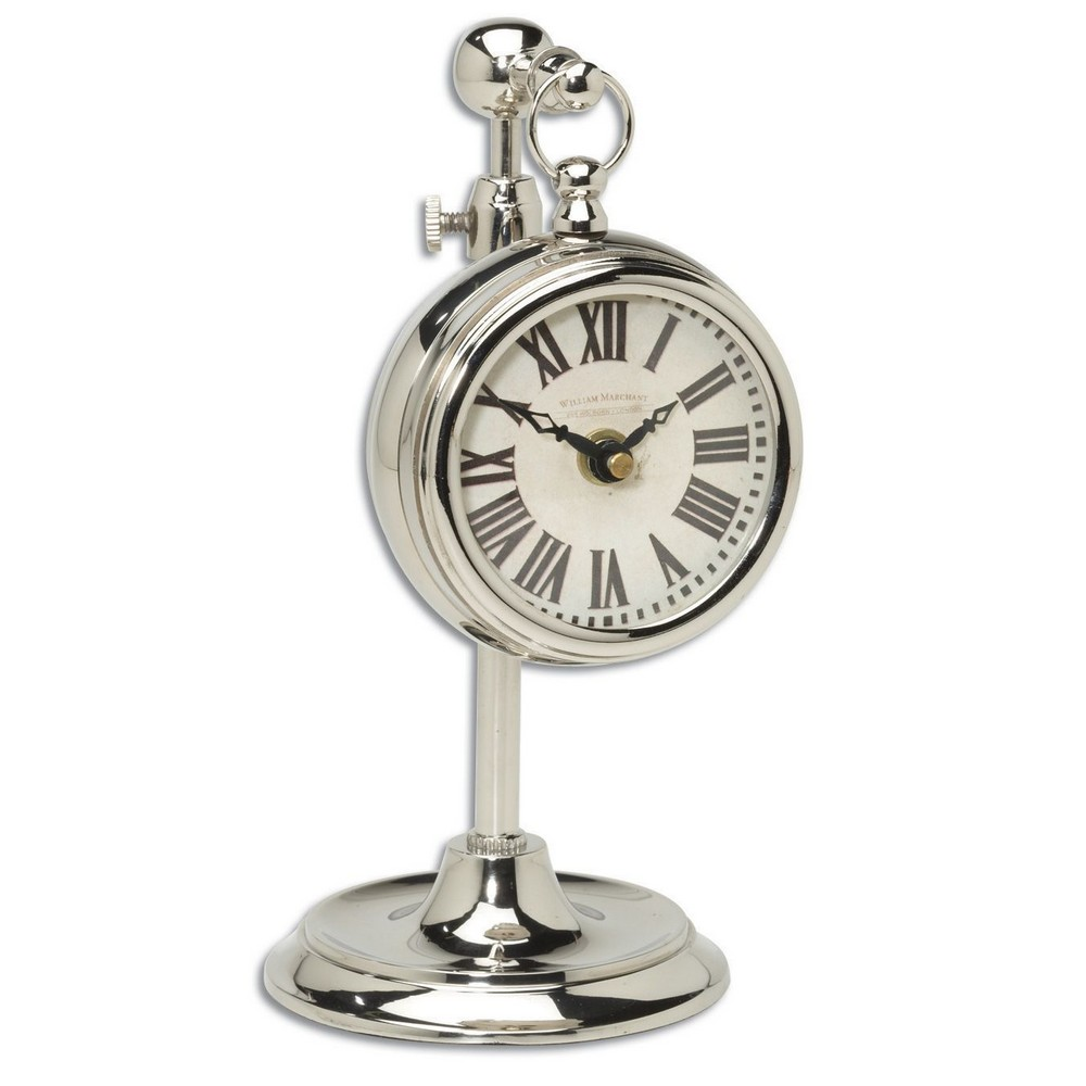 Table Clocks Pocket Watch Nickel Marchant Cream 06070 : UTT 06070 from clockshops.com size 1000 x 1000 jpeg 79kB