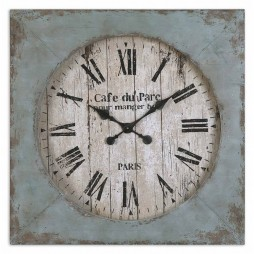 Uttermost Paron Square Wall Clock 06079