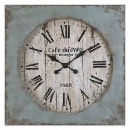 Uttermost Paron Square Wall Clock 06079