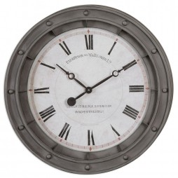 Porthole  24 inch Oversized Wall Clock 06092