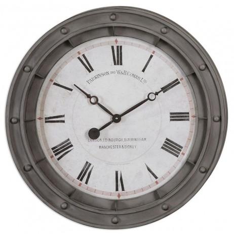 Porthole  24 inch Oversized Wall Clock 06092