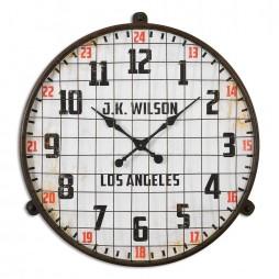 Max Aged Wall Clock 06424
