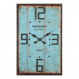 Antiquite Distressed Wall Clock 06425