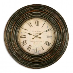 "Uttermost Trudy 38"" Oversized Wall Clock 6726 06726"