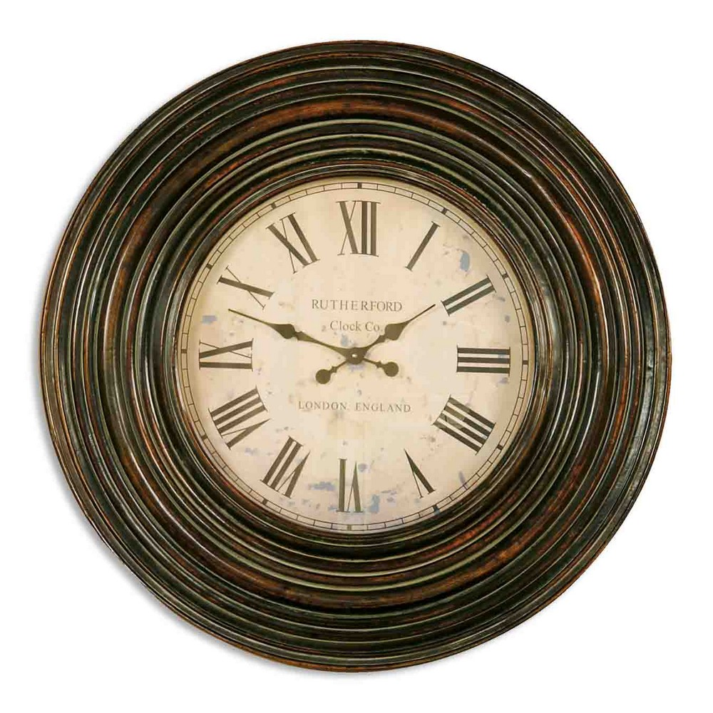 Uttermost Trudy 38 Oversized Wall Clock 6726