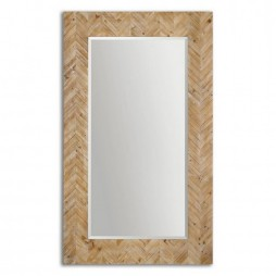 Demetria Oversized Wooden Mirror 07068