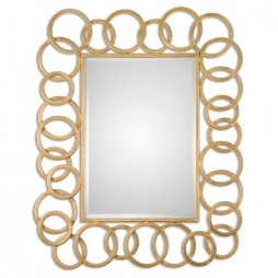 Amena Gold Rings Mirror 07069