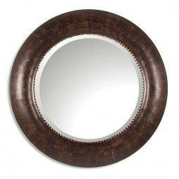 Leonzio Leather Mirror 07515 B