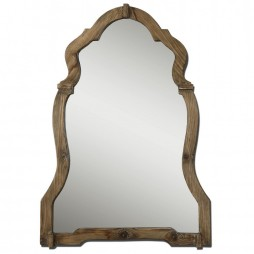 Agustin Light Walnut Mirror 07632