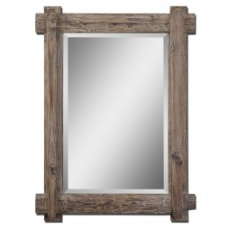 Claudio Wood Mirror 07635
