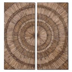 Lanciano Wood Wall Art 07636