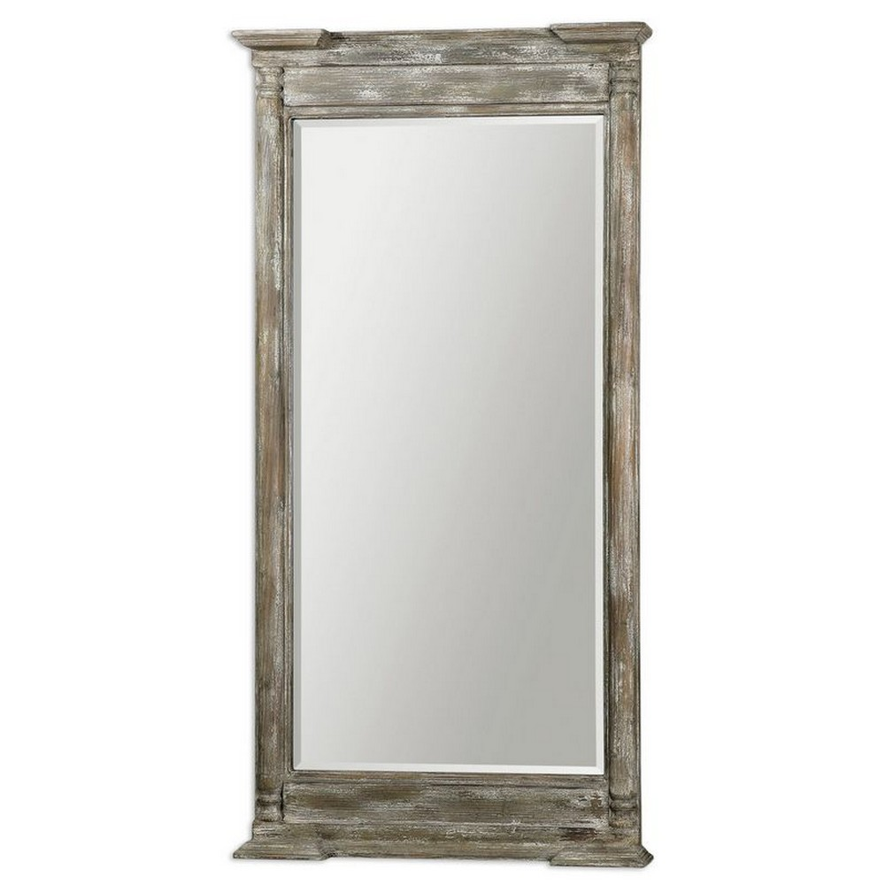 Mirrors - Uttermost Valcellina Wooden Leaner Mirror 07652