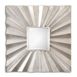Adelmar Metal Square Mirror 7684