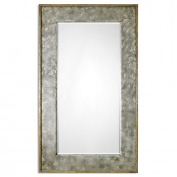 Leron Distressed Bronze Mirror 7691