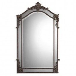 Alvita Medium Metal Mirror 08045 B