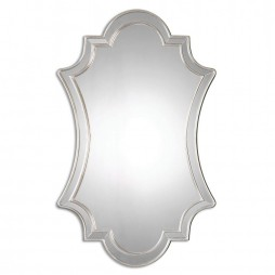 Elara Antiqued Silver Wall Mirror 8134