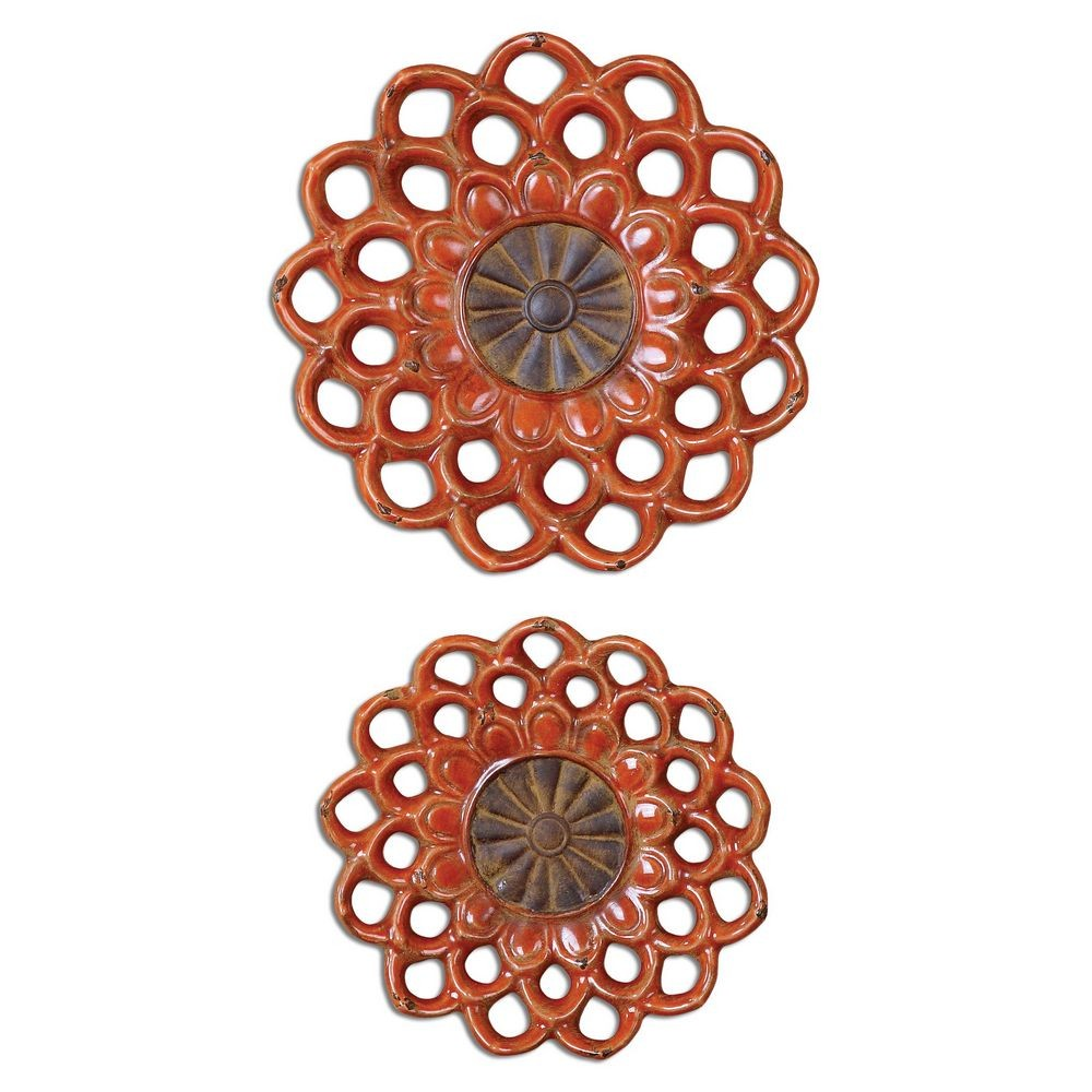Alternative Wall Decor Uttermost Carilla Ceramic